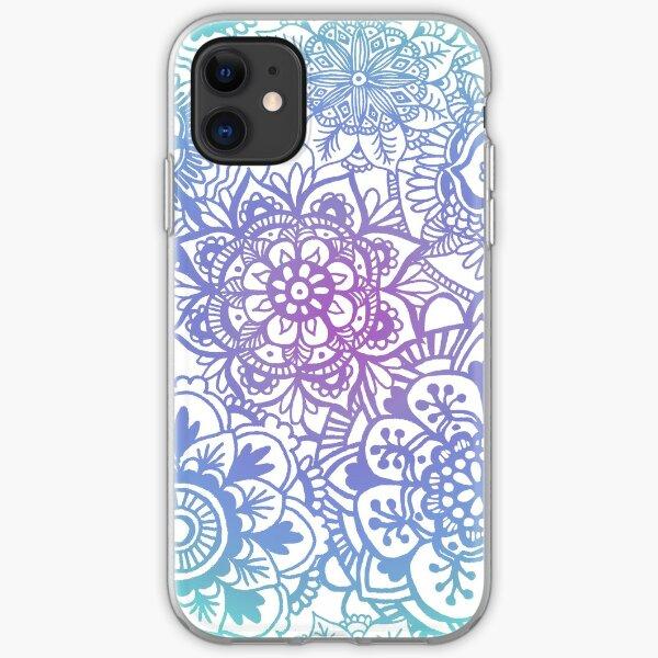 Pastel Mandala Pattern iPhone Soft Case
