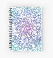 Cuaderno de espiral Patrón Mandala Pastel