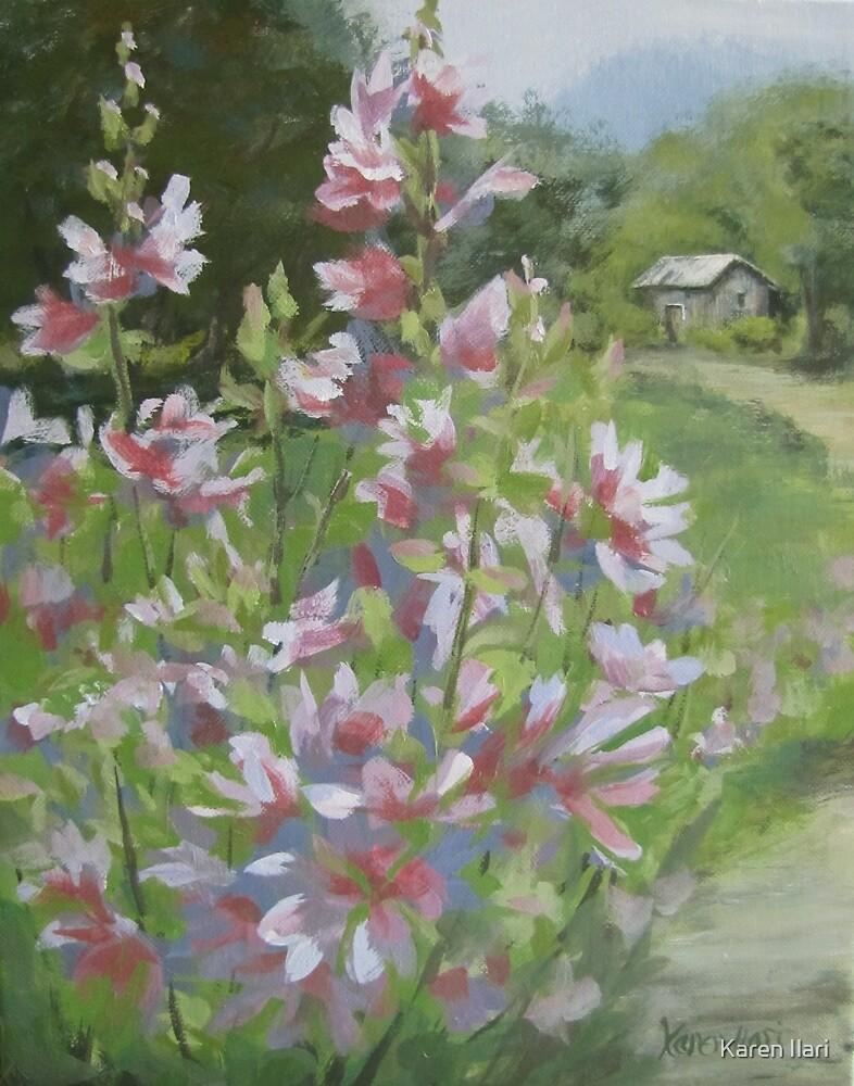 Grandma's Flowers by Karen Ilari