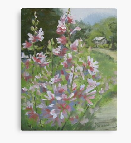 Grandma's Flowers Canvas Print