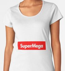 supreme supermega Women's Premium T-Shirt