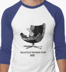 Blofeld works for ME Men's Baseball ¾ T-Shirt