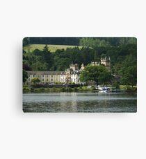 Cameron House Hotel & Country Club Loch Lomond & Seaplane Canvas Print