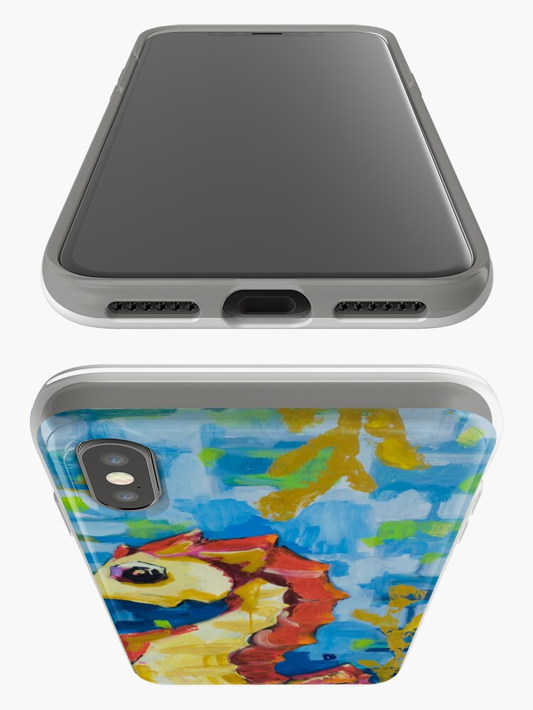 Alternate view of Seahorses iPhone Case & Cover