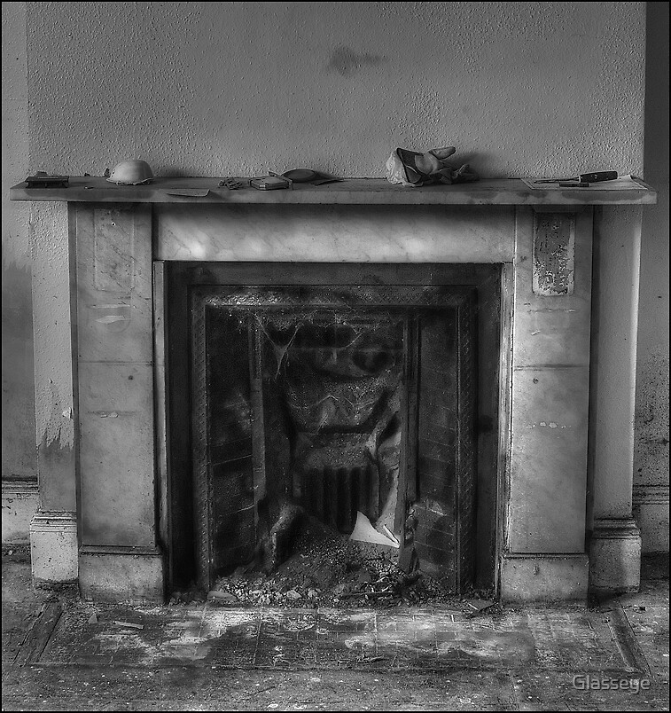 The Fireplace by Glasseye