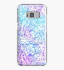 Blue and Purple Swirls Samsung Galaxy Case/Skin