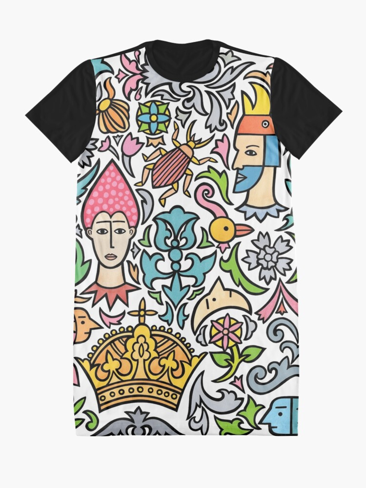 Alternate view of My crown Graphic T-Shirt Dress