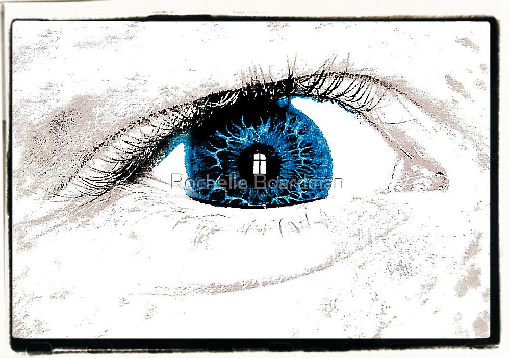 Window to the soul by Rochelle Boardman