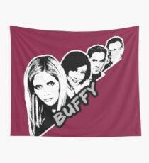 Scooby Gang - Grunge [BTVS] Wall Tapestry