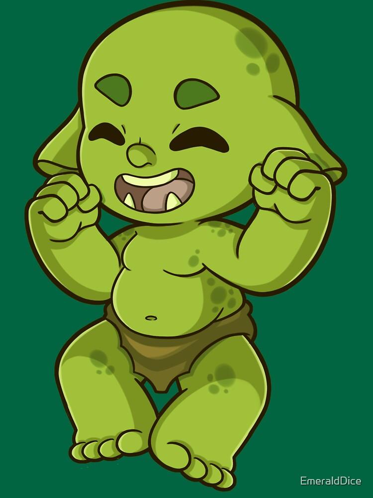 Happy Orc Merchandise by EmeraldDice