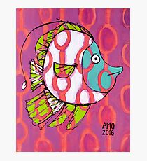 Fun Fish with Pattern Photographic Print