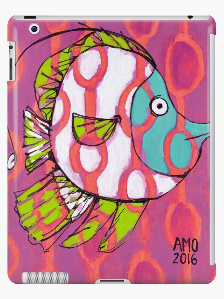 Fun Fish with Pattern by AMOpainting