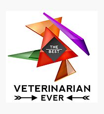 VETERINARIAN - NICE DESIGN FOR YOU Photographic Print