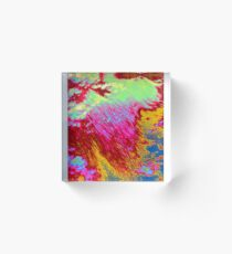 Abstract cloudscape Acrylic Block