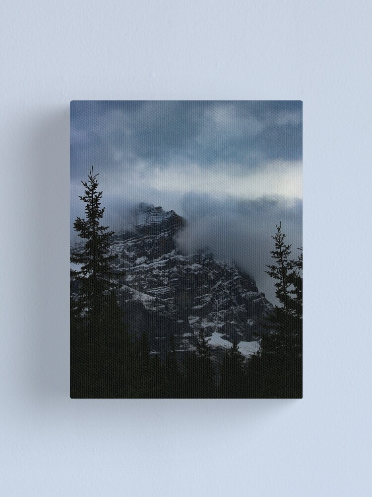 Alternate view of Misty Mountain Canvas Print