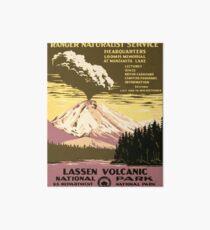 Vintage poster - Lassen Volcanic National Park Art Board