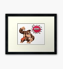 Donkey Kong Arcade Boom  Framed Print