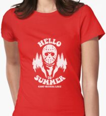 Hello to Summer Women's Fitted T-Shirt