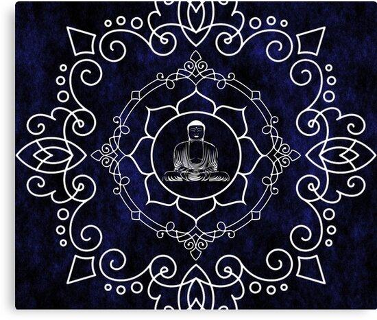 Buddha Lotus Mandala By ImageMonkey