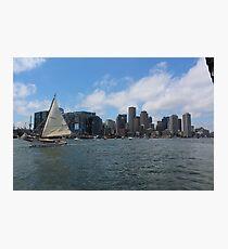 Boston Skyline  Photographic Print