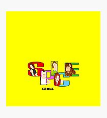 the spice girls . original illustration Photographic Print