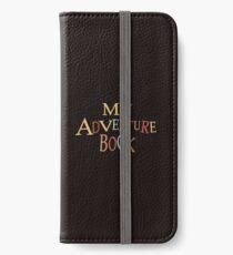 Danke für das Abenteuer iPhone Flip-Case/Hülle/Klebefolie