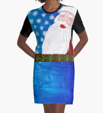 Santa close to your heart Graphic T-Shirt Dress