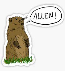 Allen! Sticker