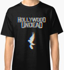 Hollywood Glitched Classic T-Shirt