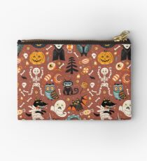 Happy Halloween Zipper Pouch