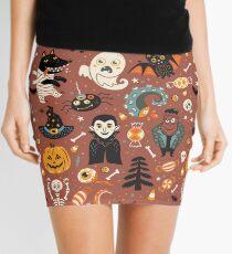 Happy Halloween Mini Skirt