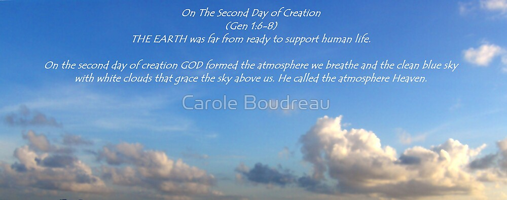 Heavens by Carole Boudreau