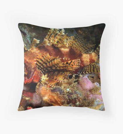 Dwarf Lionfish Throw Pillow