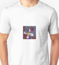 Abstract with ribbon flower T-Shirt