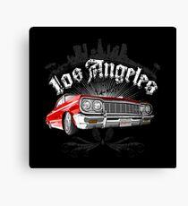 Auto Series L.A. Lowrider Canvas Print