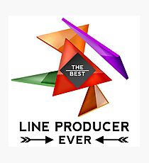 LINE PRODUCER - NICE DESIGN FOR YOU Photographic Print