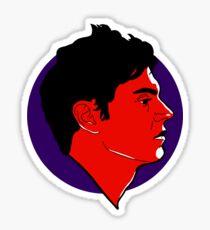 Evan Peters Sticker
