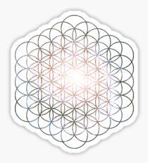 Pinwheel Flower of Life | Sacred Geometry Sticker