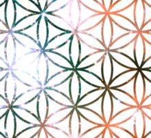 Kid Cudi Galaxy [Red] Flower of Life   Sacred Geometry Sticker