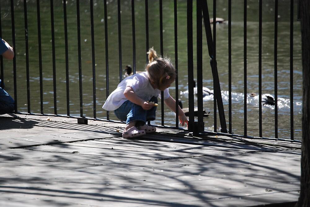 feeding the ducks by Princessbren2006