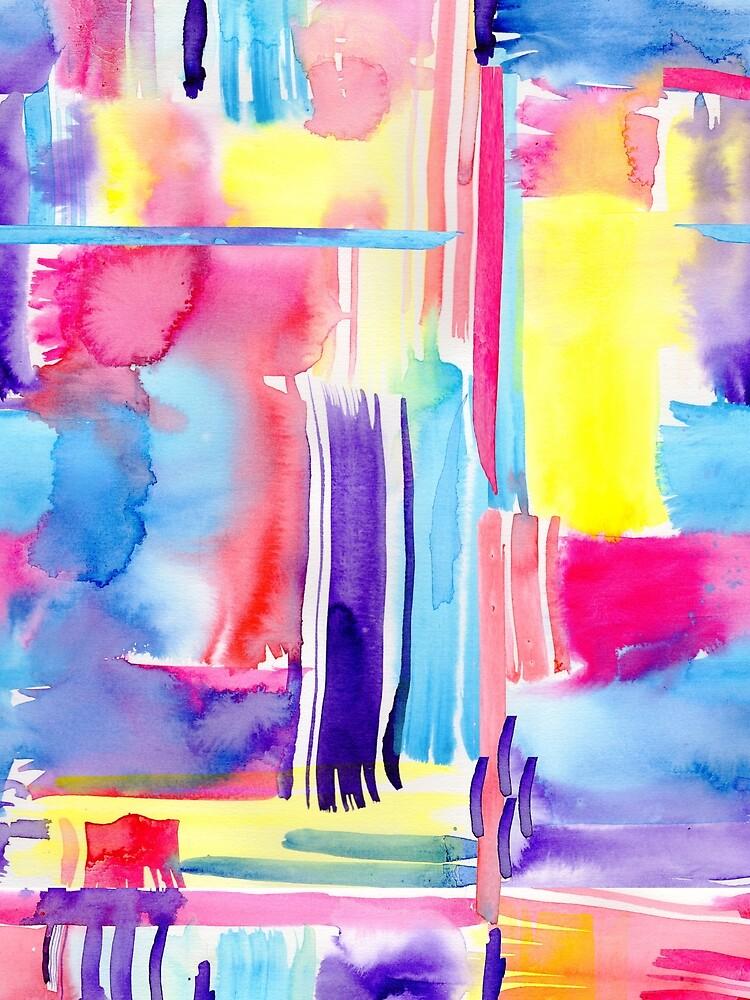 Abstract Summer by Kalaiicreations
