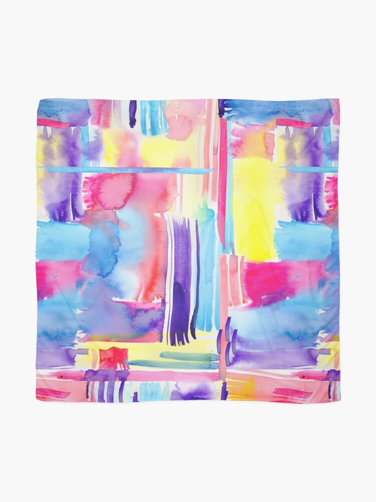 Alternate view of Abstract Summer Scarf