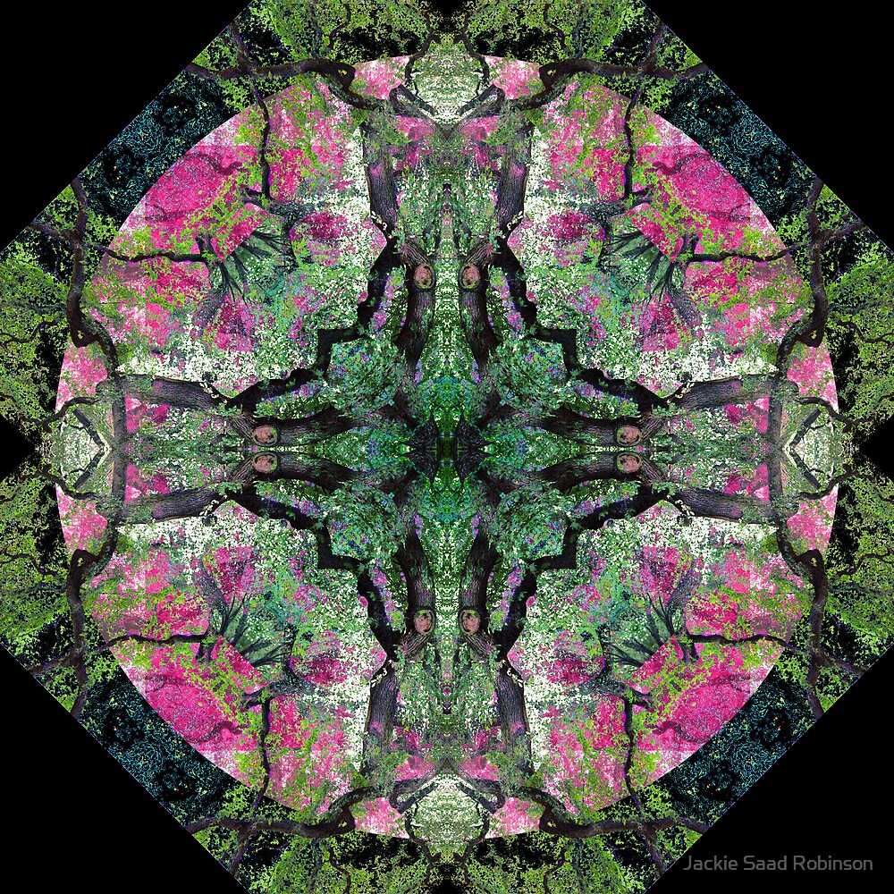 CENTRAL PARK MANDALA 8 by fashionforlove