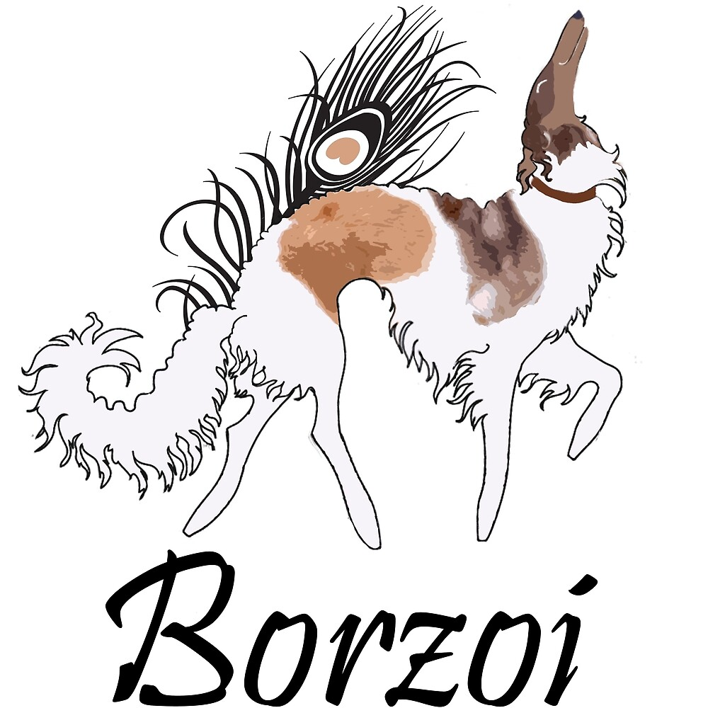Sable Borzoi by Happy Dog Swag