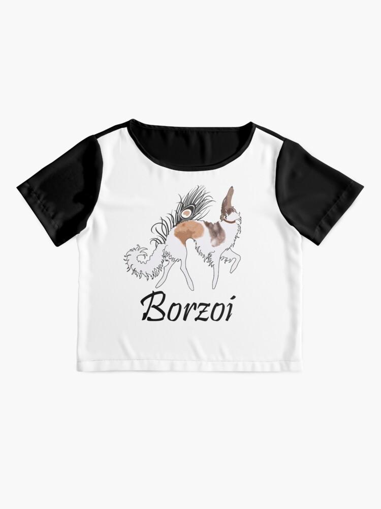 Alternate view of Sable Borzoi Chiffon Top