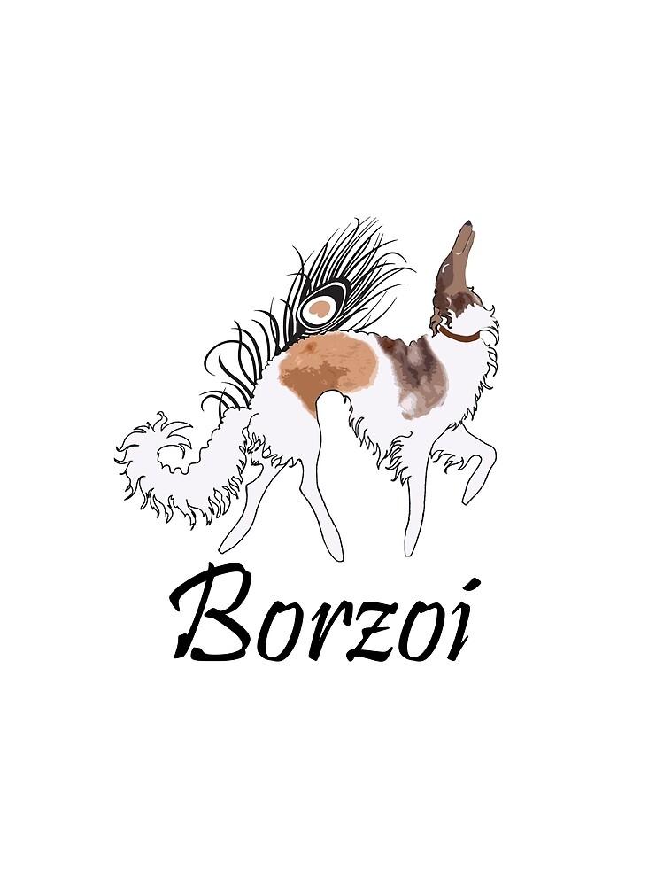 Sable Borzoi by tcarey