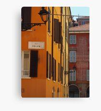Modena - Rua Freda Canvas Print