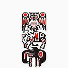 Haida tribal three animals by TurkeysDesign