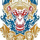 Hanuman (color) by TurkeysDesign
