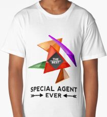 SPECIAL AGENT - NICE DESIGN FOR YOU Long T-Shirt